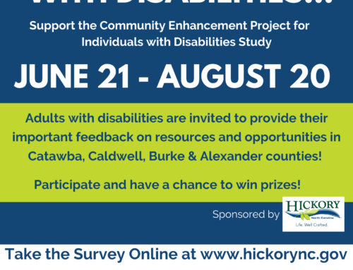 City of Hickory, NC – Community Enhancement Project for Individuals with Disabilities Study